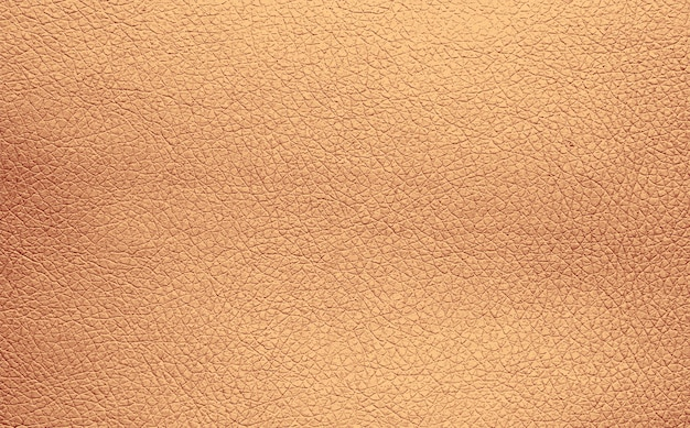 Background texture pattern of beige natural leather grain