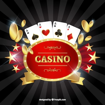 Background of traditional casino elements