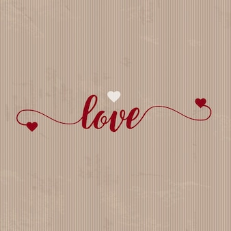 Background for valentine with paper texture