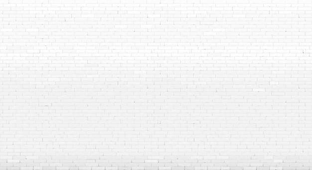 Background wall old white painted brick