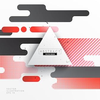 Forme astratte design element