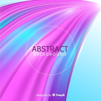Background with abstract wavy shapes concept