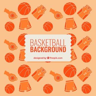 농구 요소와 배경