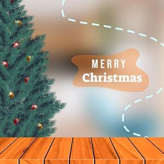 싸구려, 크리스마스 트리 배경입니다. 전나무 가지와 공 크리스마스 배경입니다.