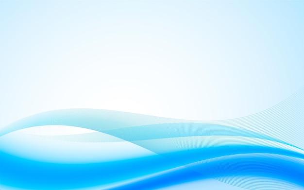 Sfondo con forme astratte blu