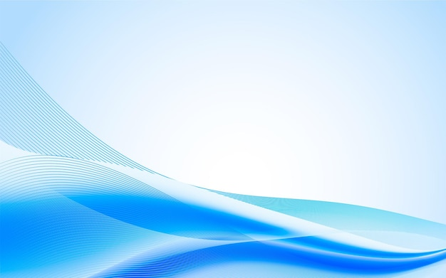 Background with blue abstract shapes