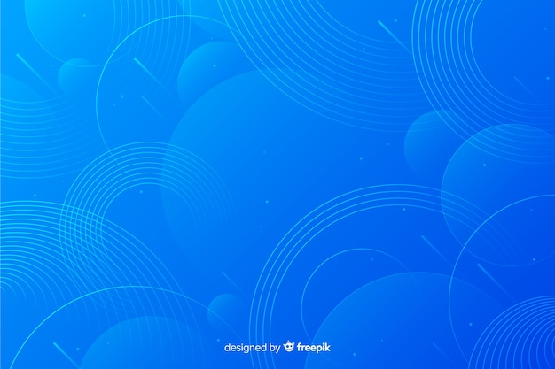 Background with circles abstract design