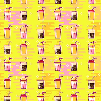 Background with cocktail or drinks
