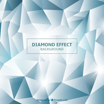 Background with diamond effect