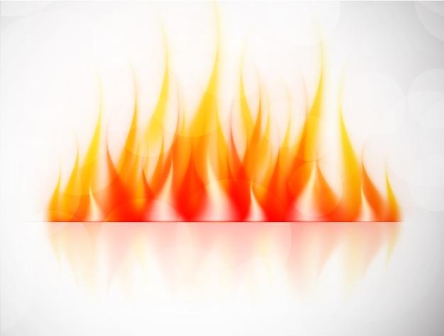 화재와 배경입니다. 추상 그림