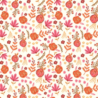 Background with a floral pattern