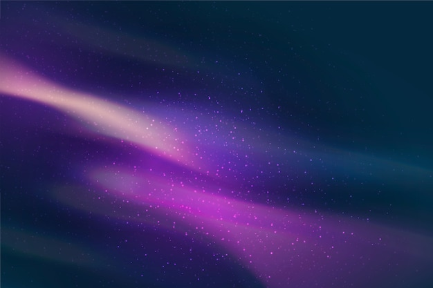 Background with galaxy particles