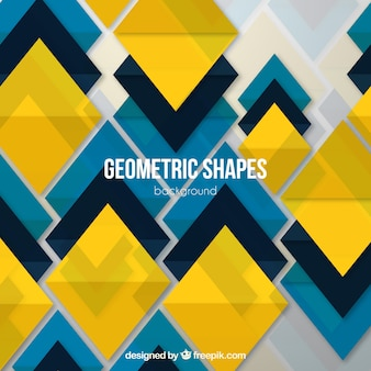 Background with geometric shapes