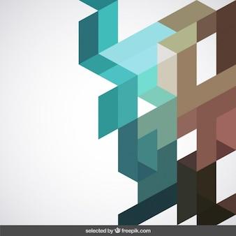 Sfondo con forme geometriche