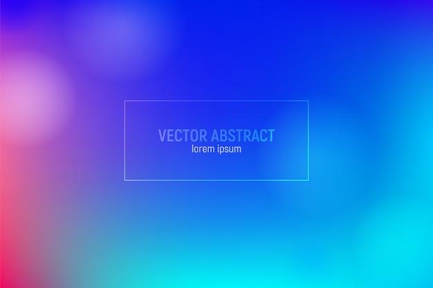 グラデーションの青と紫の背景。