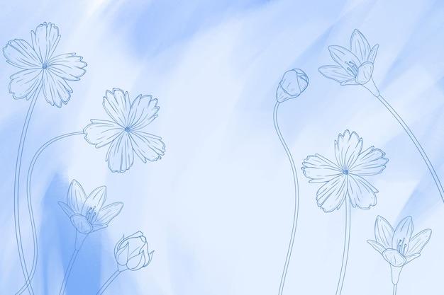 手描きの要素と背景