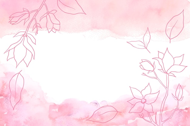 Background with hand drawn elements