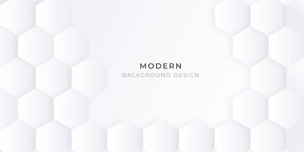 六角形のパターンデザインの背景