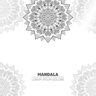 Background with mandala