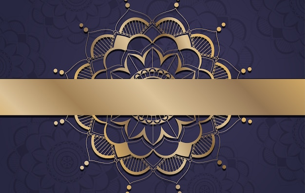 Background with mandala