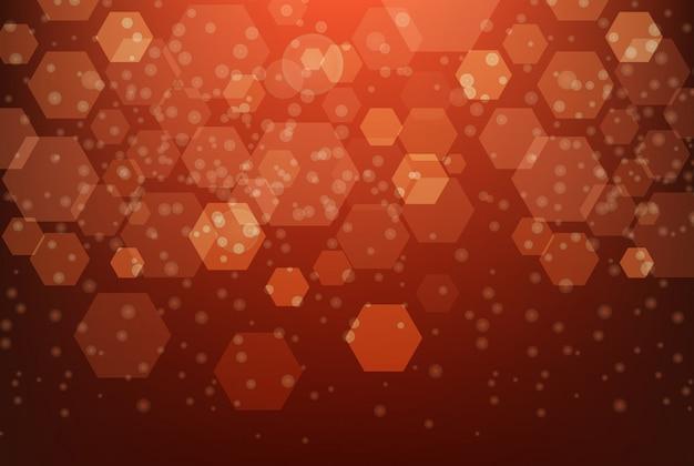 Фон с оранжевыми абстрактными узорами