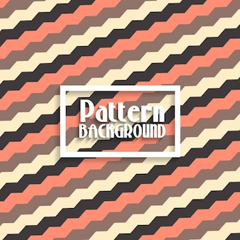 Background with a pattern with zig zag shapes