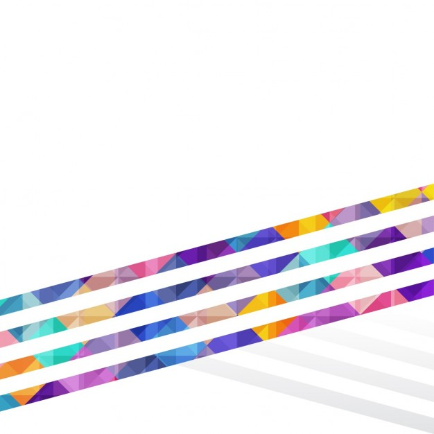 Background with polygonal lines