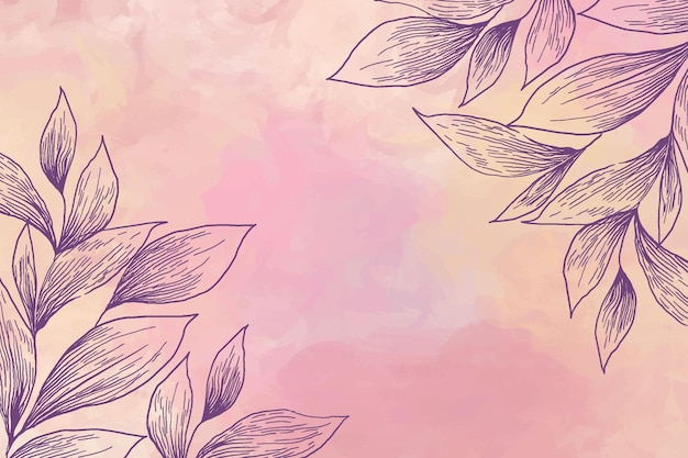 Background with powder pastel elements