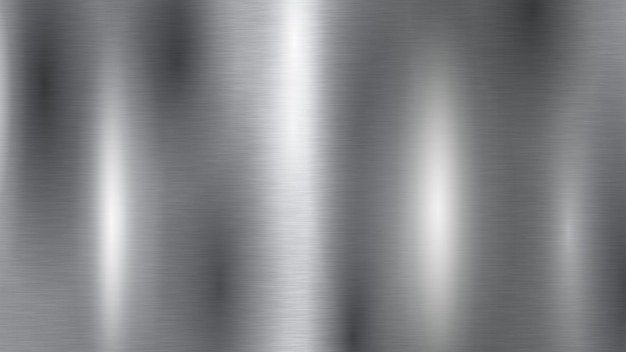 銀色の金属の質感の背景