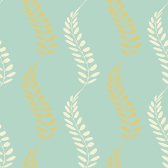 Background with stylised spikelets motif.