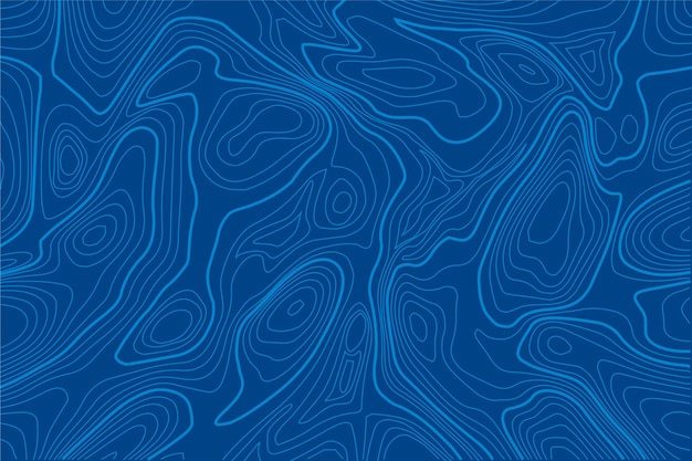 Background with topographic map style