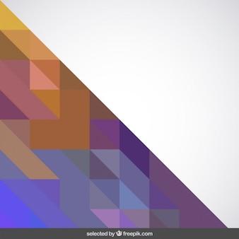 Фон с треугольной формы