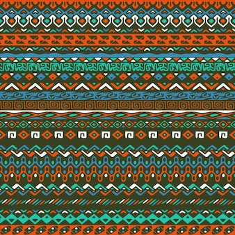 Background with tribal pattern