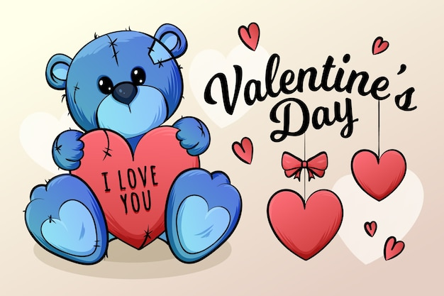 Background with valentines day theme