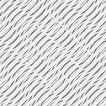 Background with wavy black lines