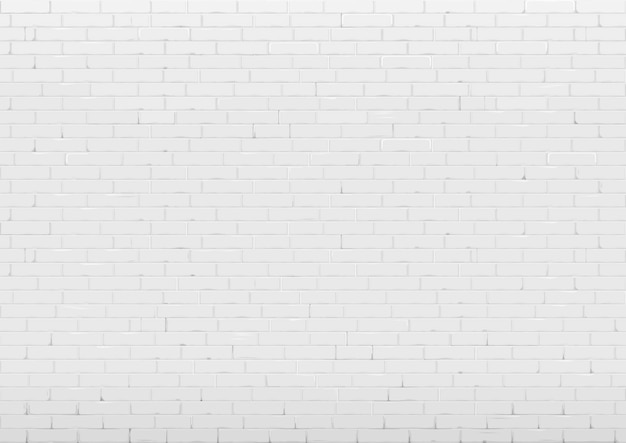 Background with white brick wall