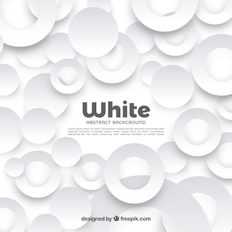 Background with white shapes
