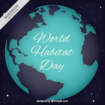 Background of world habitat day