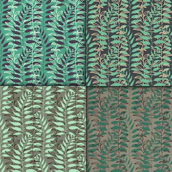 Backgrounds with leaves
