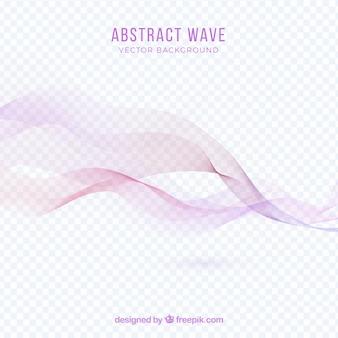 抽象的なピンクの波のbackgroung