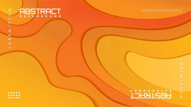 ペーパークラフトスタイルのモダンな抽象backgrund