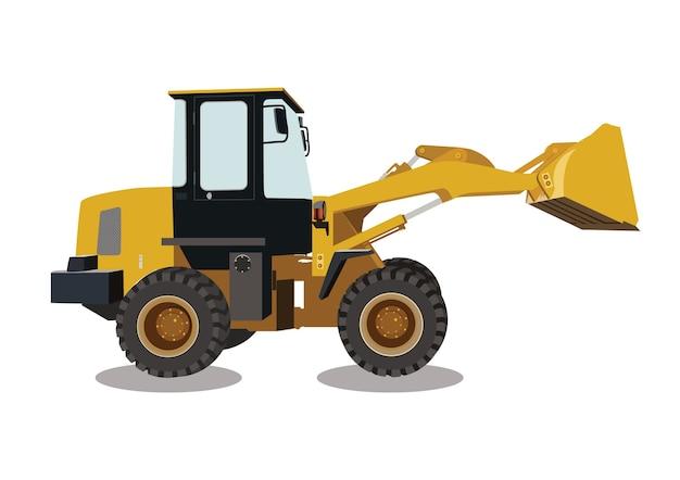Backhoe, machinery car