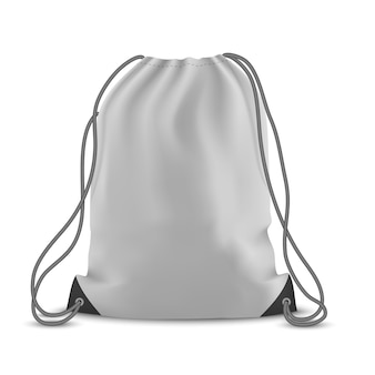 Backpack bag isolated