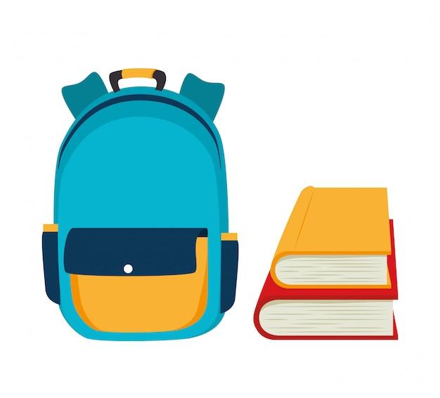 Backpack school bag design
