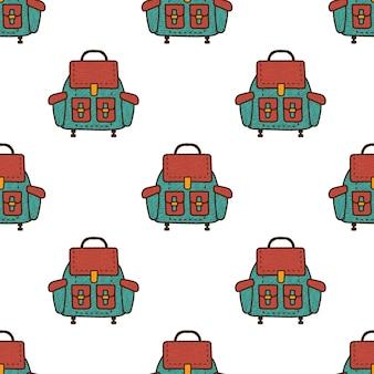 Рюкзак бесшовные модели.
