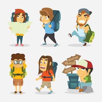 Backpacker Characters