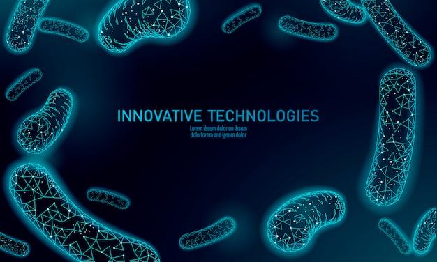 박테리아는 생균제를 렌더링합니다.
