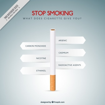 Bad habits of smoking