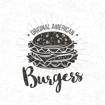 Badge burger