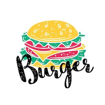 Badge burger
